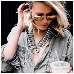 Yall told me this INSANE squash blossom necklace had sold out after I posted it last...well,... @liketoknow.it www.liketk.it/1GK02 #liketkit