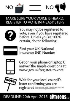 Making your voice heard in 4 easy steps. From Citizens UK.