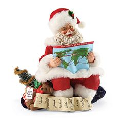 Department 56 Possible Dreams Christmas Santa's Charting a Course Figurine * Continue to the product at the image link. (This is an affiliate link) #CollectibleFigurines