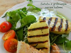 Stare Gary Sałata z grillowanym serem halloumi