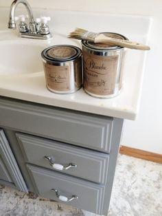 Painting Bathroom Cabinet