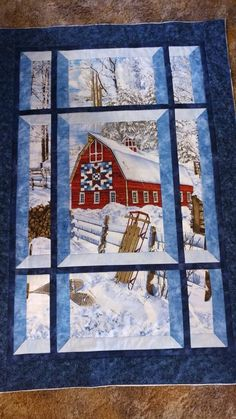 Window Pane Quilt : window, quilt, Attic, Window, Quilts, Ideas, Quilts,