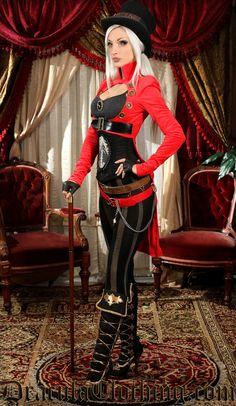 Steam GIRL, Kato #Victorian #Costume