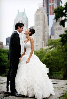 A Glamorous Summer Wedding In New York City | Glamorous Weddings | Real Weddings | Brides.com | Real Brides | Brides.com