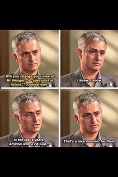 So enjoy the pan-faced, wry, dry & light sarcasm of our #CFC #SpecialONE MT @TalkOfTheBridge Hahaha I love this. Embedded image permalink