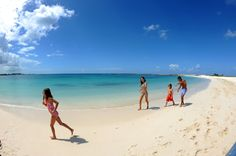 Take a family beach vacation in The Bahamas.