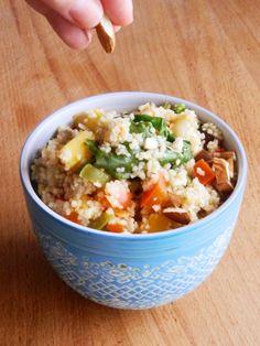 A Cozinha da Ovelha Negra: Couscous de Inverno com balsâmico e amêndoas