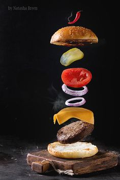 Flying Burger by Natasha Breen on 500px