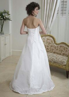 My wedding dress ssshhh!