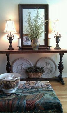 Frugality and Fun: LIVING ROOM DECORATED ON A BUDGET  - WE HAVE A NEW WEBSITE!  #living #room #ideas on a #budget