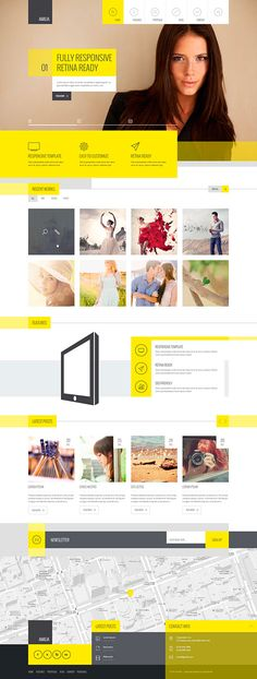 Amilia – Multipurpose Template on Web Design Served