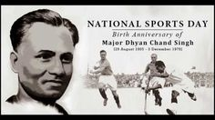 We wish you all a very happy #NationalSportsDay. ChirpyBirdy also remembers the legend Major Dhyan Chand Singh on his birth anniversary!