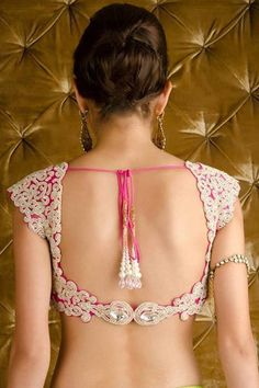 The simple choli has become a high fashion statement #Shaadimagazine #choli…