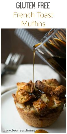 Gluten Free French Toast Muffins found at http://www.fearlessdining.com