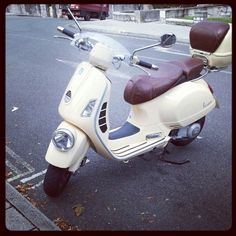 seriously thinking about trading in my car for a vespa......