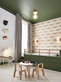 Home Interior Colour .Home Interior Colour Dining Room Wallpaper, Wallpaper Ceiling, Nursery Wallpaper, Kitchen Wallpaper, Modern Luxury Bedroom, Luxurious Bedrooms, Cool Kids Rooms, Mansion Interior, Home Curtains