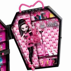 Closet Da Draculaura Monster High Mattel - R$ 199,90 no MercadoLivre