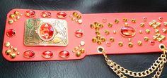 Elvis gold crystal buckle belt in stunning red for elvis jumpsuit Elvis Costume, Belt Buckles, Jumpsuit, Entertainment, Pop, Crystals, Music, Overalls, Musica