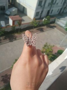 Chinese knot butterfly tutorial