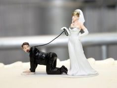 Bonecos de bolo de Casamento revelam o futuro