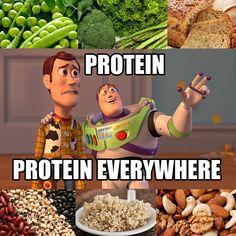 cruelty-free protein everywhere #vegan