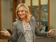 """A Candid Memoir From Comedian Amy Poehler? 'Yes Please' Amy Poehler plays Leslie Knope on Parks and Recreation, which will air its final season next year. Poehler says, """"It's a privilege in television to be able to have a proper goodbye. Amy Poehler, Parks And Rec Characters, Female Characters, Education Major, Education College, Parks N Rec, Parks And Recreation, Leslie Knope Quotes, Jean Ralphio"""