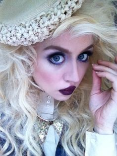 Twitter / alliharvard: A look from my shoot today