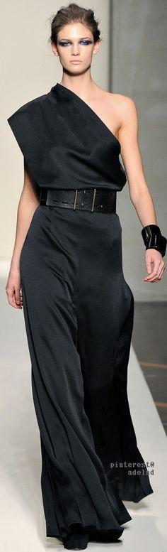 black jumpsuit @roressclothes closet ideas women fashion outfit clothing style