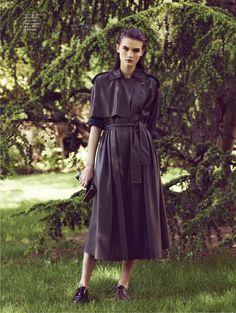visual optimism; fashion editorials, shows, campaigns & more!: l'insoumise: lara mullen by stian foss for l'officiel paris august 2014