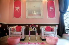 Couture Pedicure Stations- dream space for me and Tamia