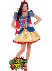 Adult Princess Snow White Costume