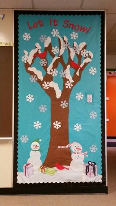 Holiday - winter bulletin board - Ideas for classroom - Christmas