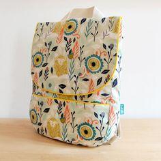 Backpack for children handmade by LORIBARCELONA on Etsy