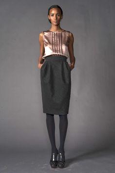 J. Mendel Pre-Fall 2009 Fashion Show