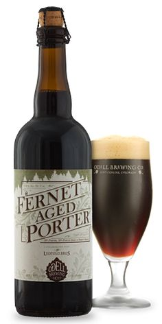 Fernet Aged Porter - Odell Brewing.  9.8ABV.  Fernet on the nose, with an absent porter.  Yeast and Fernet on the palate, Fernet on the finish with a bit of coffee.  For me it was fairly one dimensional  Big Beer, great taste, unique.  Had something missing.