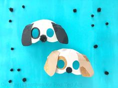 Wonderful and easy 3d Dog Mask Craft made from Paper Plates. Use the free Dog Mask Template to make these fantastic Dog Masks for kids