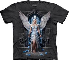 T-shirt homme ange gothic - The Mountain - Boutique