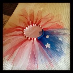 For little miss....4th of July tutu