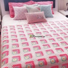 GENTLE BEDSPREADS WITH DAISIES MOTIFS