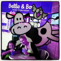 "@Roxanne Avenant's photo: ""#frozenyoghurt #froyo #bellaandboo #girlsdayout"""