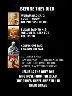 Jesus is the The way The truth The light . So Jesus is all of them combined that makes absolute perfect sense and I could agree with that! Jesus Quotes, Faith Quotes, Bible Quotes, Biblical Quotes, Christian Memes, Christian Faith, Way Of Life, The Life, Just In Case