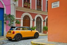 Colour cruising with The New MINI.