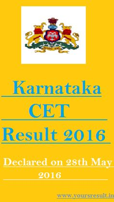 KCET exam Result 2016,KCET Result 2016,Karnataka CET Result 2016,CET result 2016,www.kea.kar.nic,Entrance Result, Results KCET Result 2016 – hello friends we have a amazing news for all appeared candidates that is The official has decided to announced Karnataka Common Entrance Test 2016 on 28th May 2016 which was held in 4th, 5th, 6th May 2016 .candidates who are eagerly waiting …
