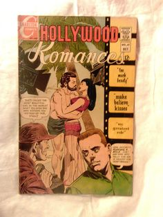 CHARLTON COMICS-HOLLYWOOD ROMANCES-VOL  2,NO. 47,OCTOBER 1967-TOO MUCH BEAUTY