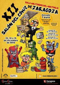 salon comic zaragoza 2013 Hoy arranca la XII edición del Salón del Cómic de Zaragoza