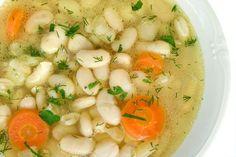 Polievka z bielej fazule od babičky - Recept pre každého kuchára, množstvo receptov pre pečenie a varenie. Recepty pre chutný život. Slovenské jedlá a medzinárodná kuchyňa Enjoy Your Meal, Menu, Soup, Ethnic Recipes, Google, Menu Board Design, Soups