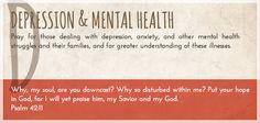 Pray A to Z: Depression & Mental Health