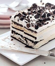 Easy Ice Cream Cake recipe   Chefthisup