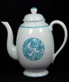 """Lalique """"merles Et Raisins"""" Limoges Teapot"""
