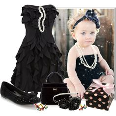 baby fashionista... Yes, this will someday be my little girl! :))